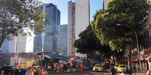 Centro – marché populaire près des buildings