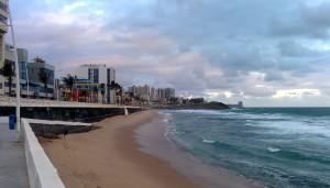 Une plage de Salvador