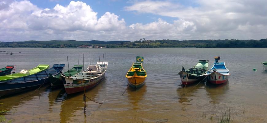 Penedo - bateaux de pêche