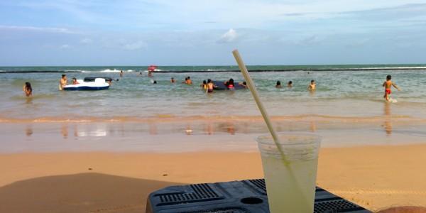Une caïpi à la plage :)
