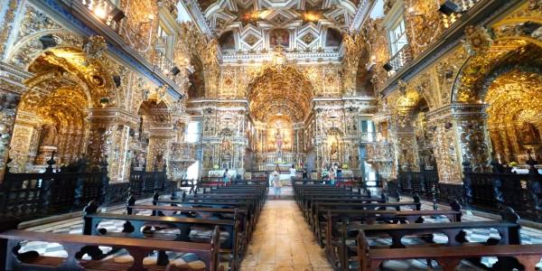 Intérieur de l'Igreja Sao Francisco