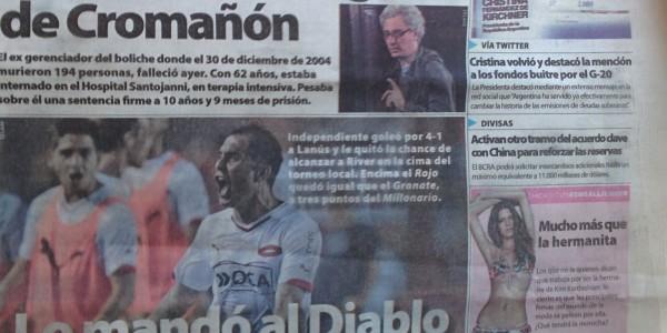L'argentin : le foot d'abord, les femmes et la bouffe ensuite