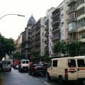 Clin d'oeil aux parisiens : grisaille et embouteillages sous la pluie…