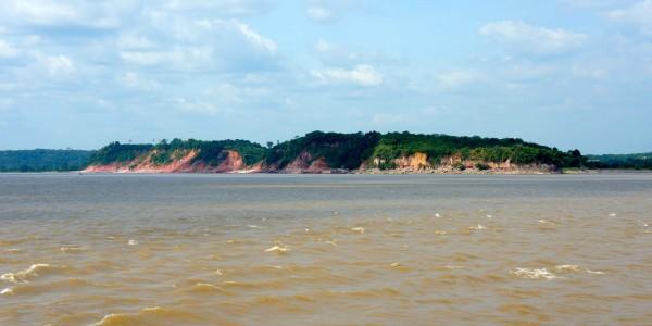 Paysage de l'Amazone