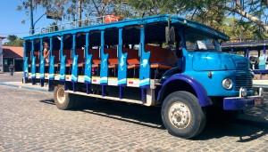Les bus 4x4, appelé Jardinheros ici