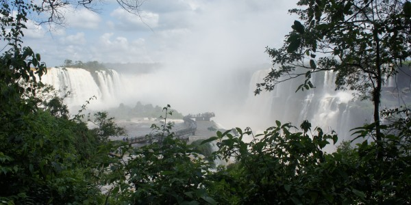Chute d'Iguazu : Côté Brésil