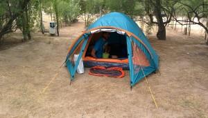 Inauguration de la tente !