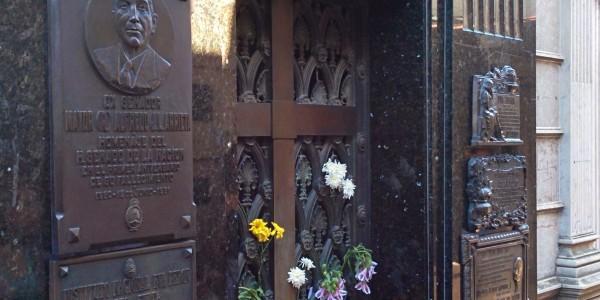 Recoleta : tombe d'Eva Peron, icône argentine