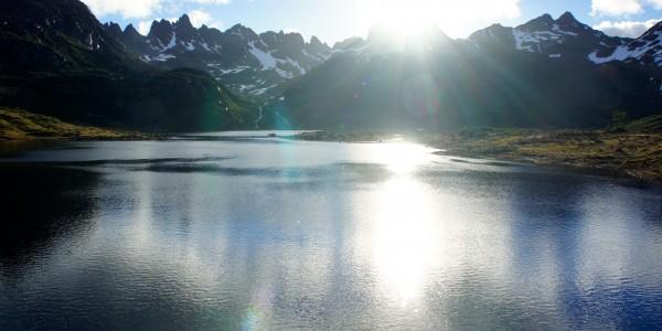 Le soleil nous fera le plaisir de sortir pour cette vue sur les Dientes