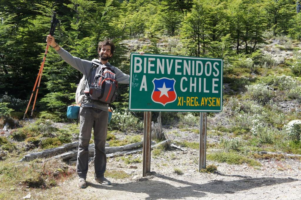 Manuelito, muy feliz de estar en Chile !