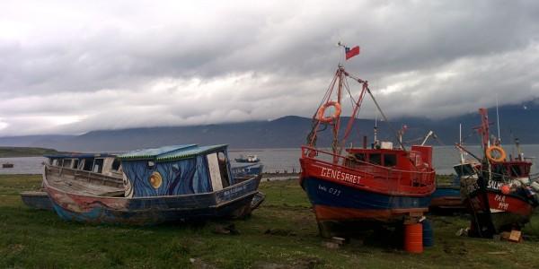 Puerto Williams et ses bateaux
