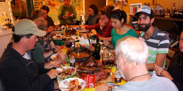 Festin au Refugio