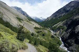 1ère vallée vers les Torres