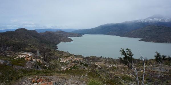 Lago Grey, issu du glacier du même nom