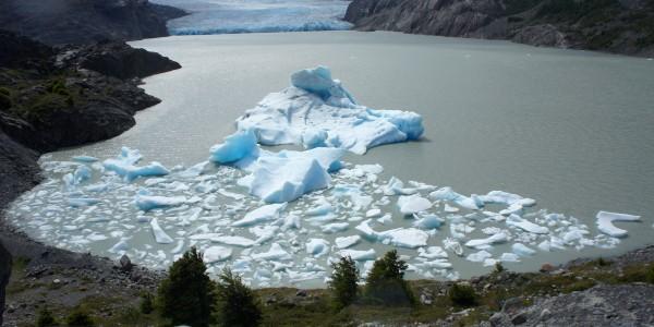 Iceberg du glacier