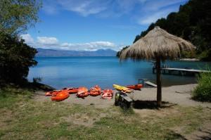 Embarquement des kayaks !