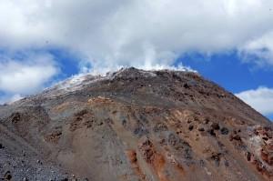 Le cratère du Volcan Chaiten