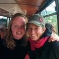 Les retrouvailles : Nolwenn et sa cousine Gaël !!