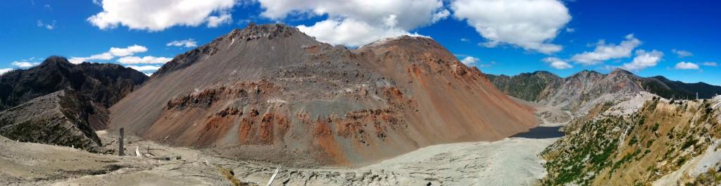 Panorama du cratère
