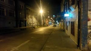 Nuit à Puerto Montt