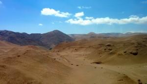 Sur la route vers Arequipa