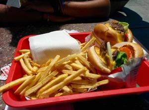 Repas - Burger Wendys