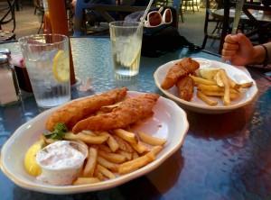 Repas - Fish & chips