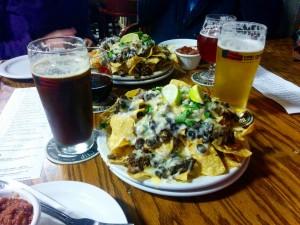 Repas - Nachos & beer