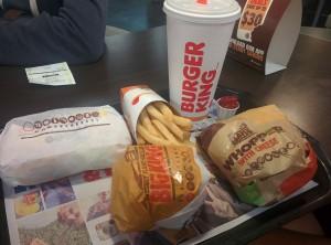 Repas - burger king