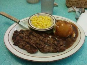 Repas - steak