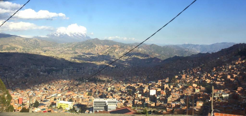 Vue sur La Paz