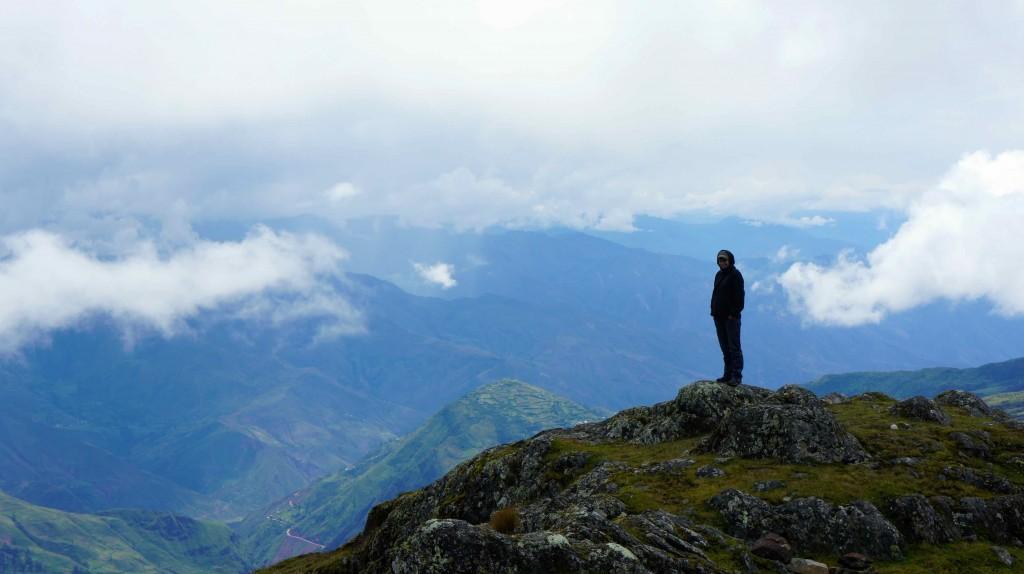 Perchée à 4200m d'altitude