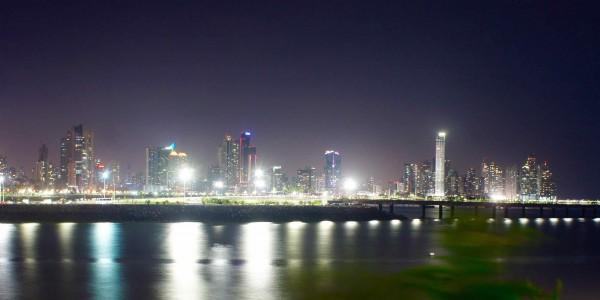 La Skyline de nuit