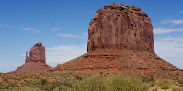 Imposantes formations de la Monument Valley !