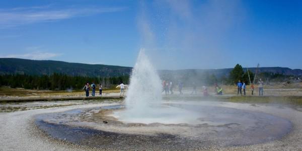 Et encore des geysers…