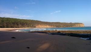19. Pebbly beach