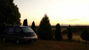 Ernesto au coucher de soleil