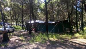 La tente australienne, plus grande qu'un appart parisien
