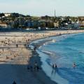 Bondi Beach en semaine, au début de l'hiver