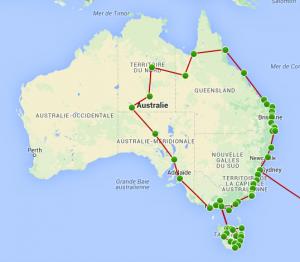 Il est temps de boucler la boucle Australienne !