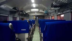 Le train indonésien