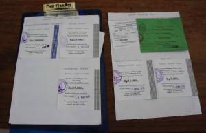 Toutes les taxes à payer pour visiter Komodo NP