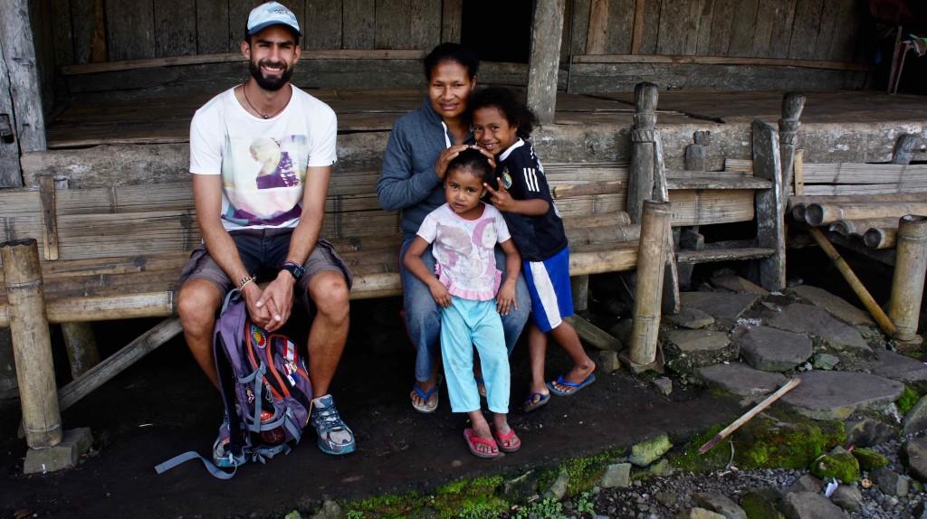 Laetitia et ses enfants