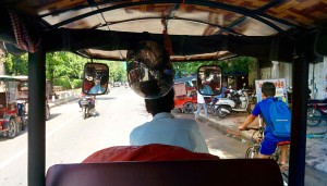 Inside the Tuk-tuk