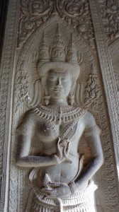 bas-relief du sanctuaire