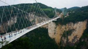 Le pont de verre