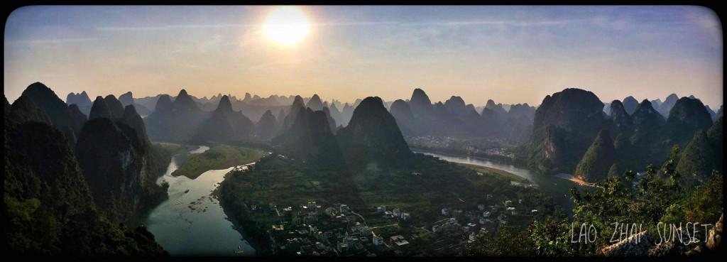 Vue panoramique arrivés en haut