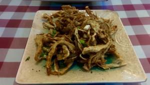 Le porc qui se transformait en champignons...