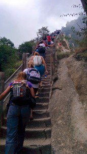 ...100% escaliers!