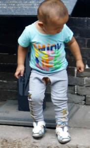 Le pantalon chinois